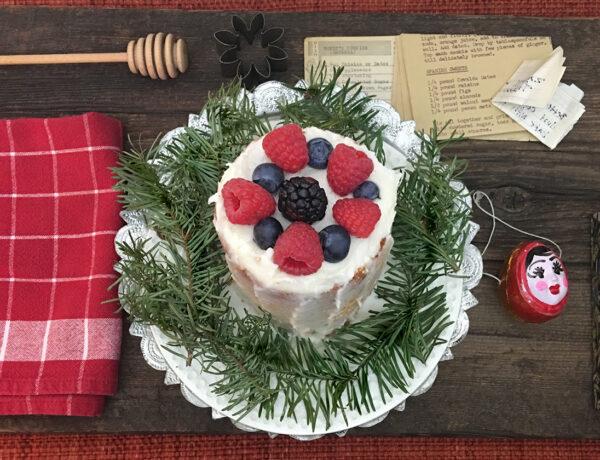 Holiday White Cake