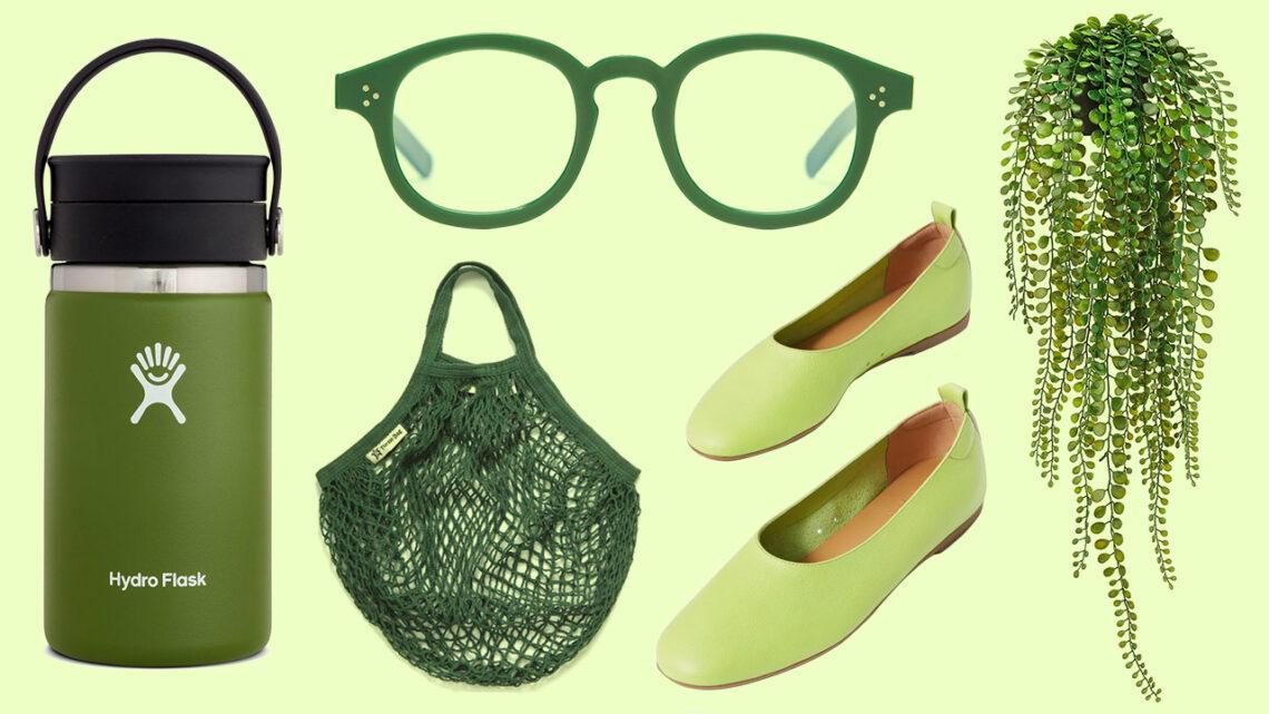 FIDM Fashion Club Color Challenge Green